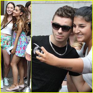 Ariana Grande & Nathan Sykes: Toronto Twosome!
