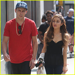 Ariana Grande: NYC Lunch with Guy Pal