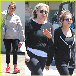 Ashley Benson: Weekend Workout
