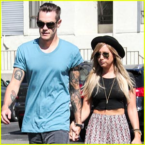 Ashley Tisdale & Christopher French: Toluca Lake Twosome!