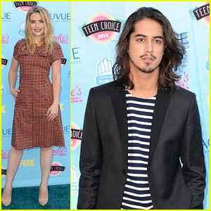 Avan Jogia & Maddie Hasson - Teen Choice Awards 2013!