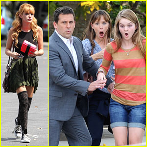 Bella Thorne & Kerris Dorsey: Not Such 'Terrible' First Filming Day