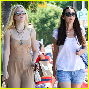 Elle Fanning: Studio City Sunday