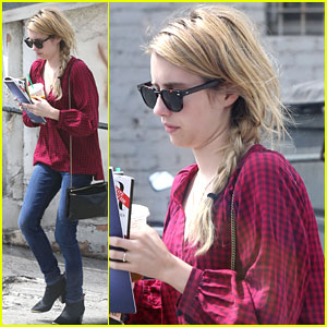 Emma Roberts: Early Morning Errands