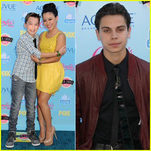Jake T. Austin & Cierra Ramirez - Teen Choice Awards 2013