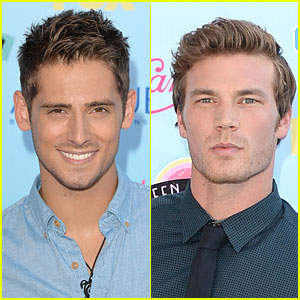 Jean-Luc Bilodeau & Derek Theler - Teen Choice Awards 2013