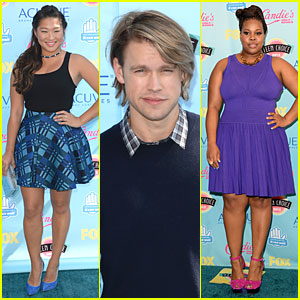 Jenna Ushkowitz & Chord Overstreet - Teen Choice Awards 2013
