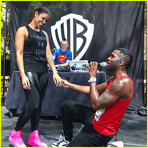 Jason Derulo Serenades Jordin Sparks with 'It Girl'