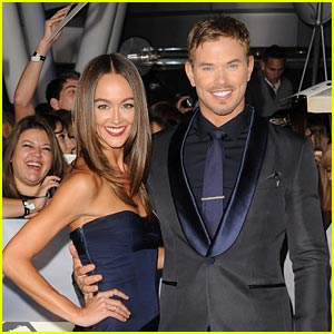 Kellan Lutz & Sharni Vinson: Back Together!