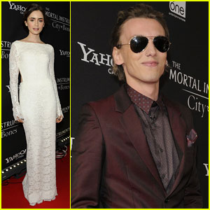 Lily Collins & Jamie Campbell Bower: 'Mortal Instruments' Toronto Premiere