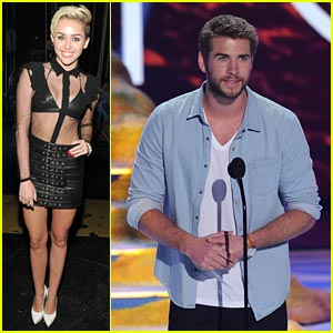 Miley Cyrus & Liam Hemsworth - Teen Choice Awards 2013