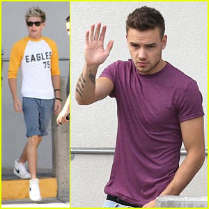 Liam Payne & Niall Horan Step out in Las Vegas