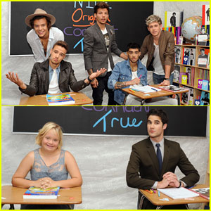 One Direction & Darren Criss: Backstage Creations Celebrity Retreat
