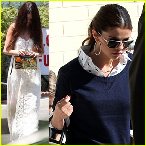 Selena Gomez: Santa Monica Shopping Spree!