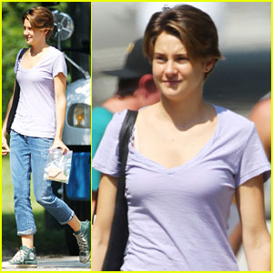 Shailene Woodley: First 'Fault in Our Stars' Set Pics!
