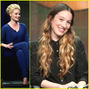Sophie Lowe & Emma Rigby: 'Wonderland' Panel at TCA 2013