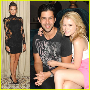 Taylor Spreitler & Katie Cassidy: Cosmo's Summer Bash with Anna Camp!