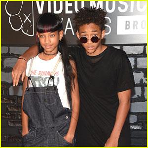 Willow & Jaden Smith - MTV VMAs 2013