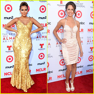 Adrienne Bailon & Maiara Walsh: ALMA Awards 2013