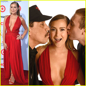 Alexa Vega: ALMA Awards 2013 with Daryl Sabara