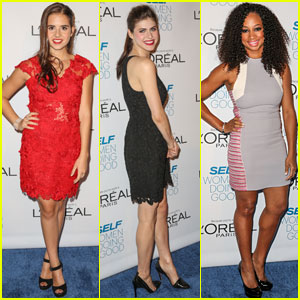 Alexandra Daddario & Carly Rose Sonenclar: Women Doing Good Awards 2013