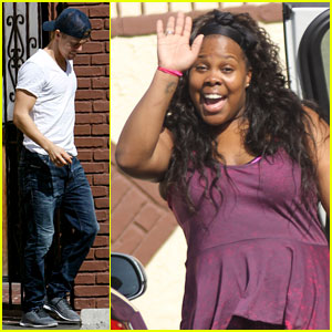 Amber Riley: I Was Amazed my 'Glee' Castmates Came to 'DWTS'