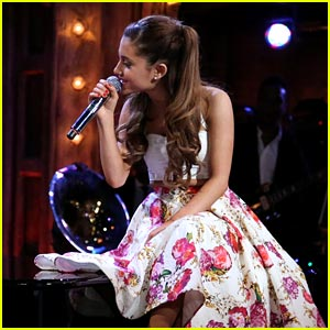 Ariana Grande: Broadway Versions of Rap Songs - Watch Now!