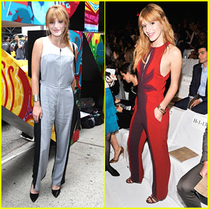 Bella Thorne: DKNY Runway Show at NYFW