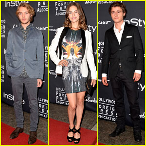Callan McAuliffe & Lyndsy Fonseca: TIFF InStyle Party with Toby Regbo