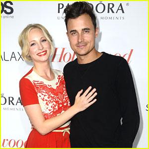 Candice Accola & Joe King: THR Pre-Emmy Party Pair