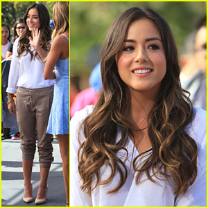 Chloe Bennet: 'Extra' Appearance After 'Agents of S.H.I.E.L.D.' Premiere
