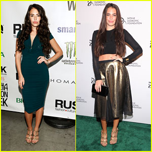 Chloe Bridges: Novak Djokovic Foundation Dinner & Nolcha Fashion Show Events