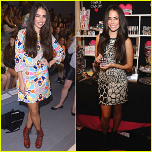 Chloe Bridges: Front Row for Mara Hoffman at NYFW