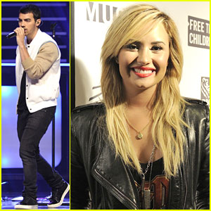 Demi Lovato & Joe Jonas: We Day 2013!