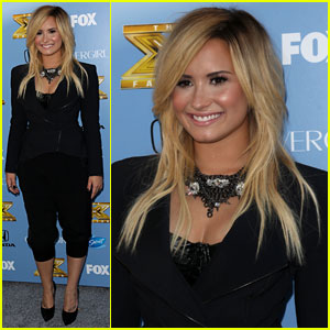 Demi Lovato: 'X Factor' Season 3 Premiere Party