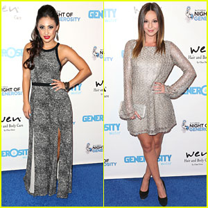 Francia Raisa & Samantha Droke: Night of Generosity 2013