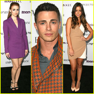 Holland Roden & Colton Haynes - Teen Vogue Young Hollywood Party 2013