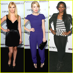 Jennette McCurdy & Claudia Lee - Teen Vogue Young Hollywood Party 2013