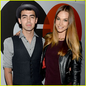 Joe Jonas & Blanda Eggenschwiler: GQ & Gap Event with Kevin Jonas