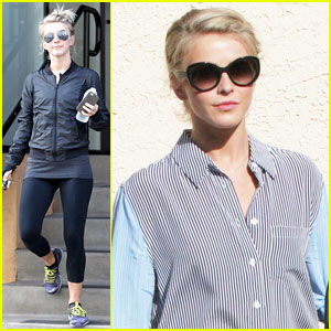 Julianne Hough Hits the Gym Before Dance Studio Stop