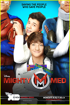 Bradley Steven Perry & Jake Short: 'Mighty Med' Poster! (Exclusive)