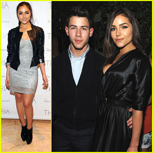 Nick Jonas & Olivia Culpo: Fashion Week Party Pair