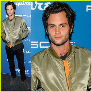 Penn Badgley: 'Esquire' Anniversary & Network Launch Party