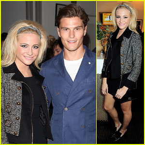 Pixie Lott & Oliver Cheshire: 'Sunshine On Leith' Screening Pair