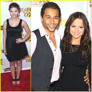 Corbin Bleu & Stefanie Scott: 'Wizard of Oz' Opening Night!