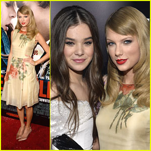 Taylor Swift: 'Romeo and Juliet' Premiere with Hailee Steinfeld!