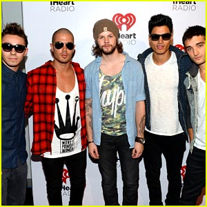 The Wanted: iHeartRadio Festival Performance Pics!