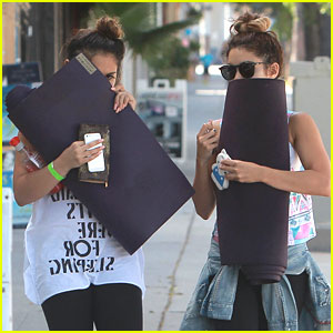 Vanessa Hudgens: Yoga After YLA Performance