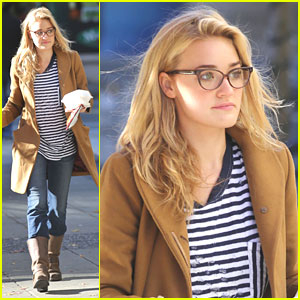 AJ Michalka Films 'Motive' in Vancouver
