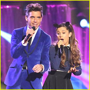 Ariana Grande & Mika: 'Popular Song' Performance Pics on DWTS
